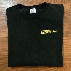 Vintage Fear Factor T Shirt TV Promo 2XL Black